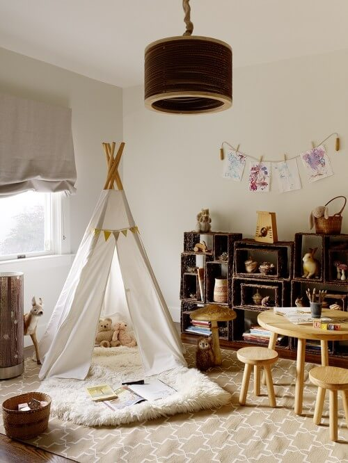 eclectic kids room 10 Creative Designs For Kids Room