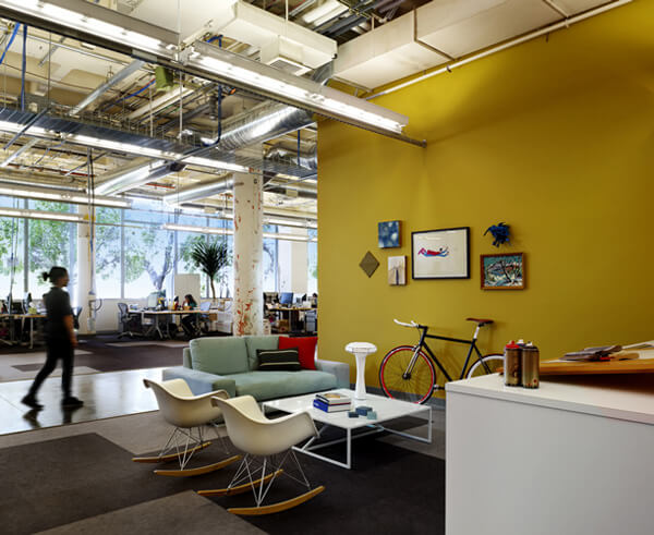 facebook office design1 Creative Modern Design: Facebook Office in Palo Alto