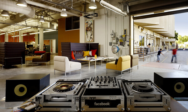 facebook office design6 Creative Modern Design: Facebook Office in Palo Alto