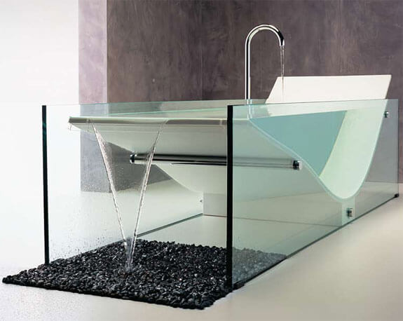 cool clear bathtub pics