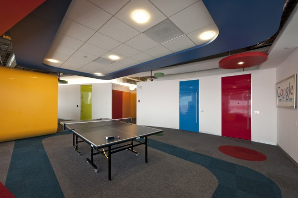 Inspiring design concept for google office in mexico for Office design google