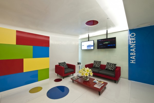 google office mexico7 600x402 Inspiring Design Concept for Google Office in Mexico