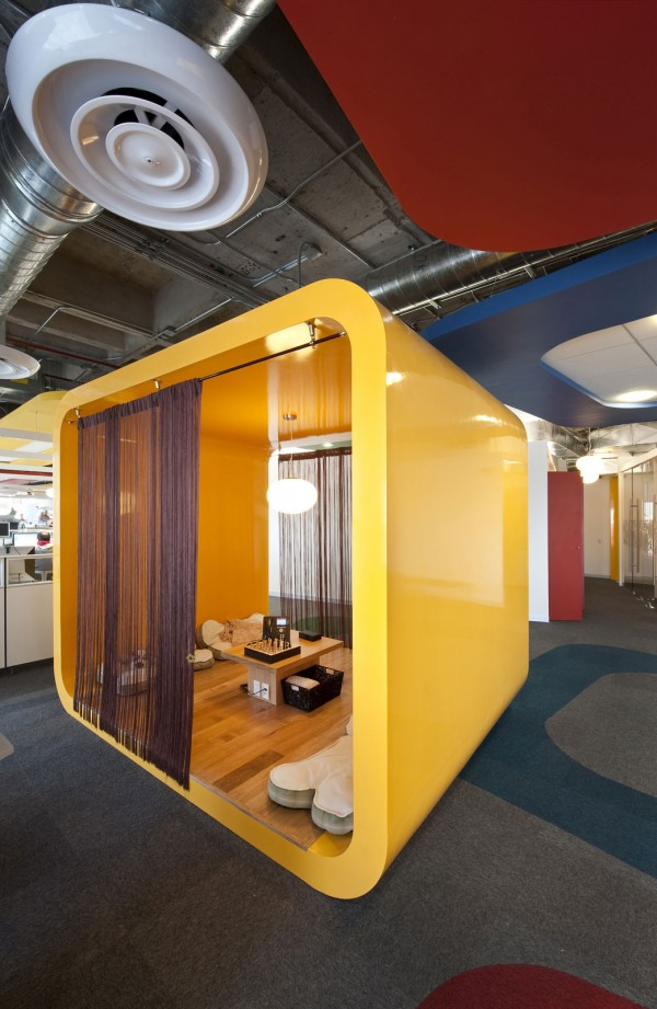 google office mexico8 600x921 Inspiring Design Concept for Google Office in Mexico