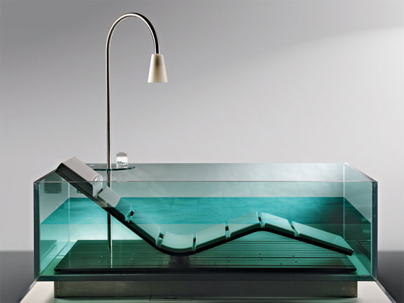 Glass Bathtub 8 modern clear glass bathtubs – interior design, design news and