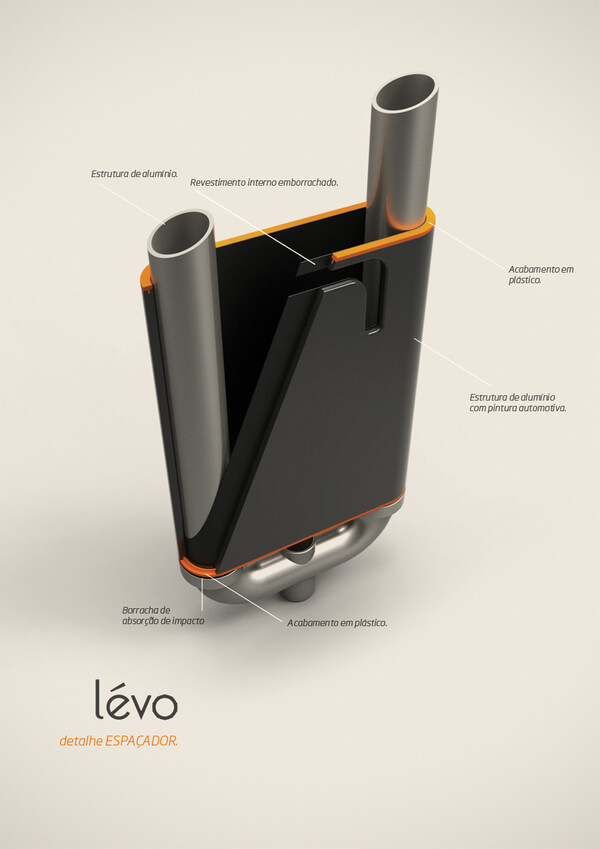 levo multipurpose cart6 Multipurpose Cart Concept For Shopping