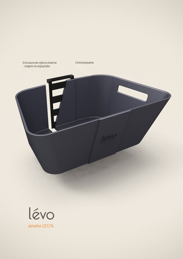 levo multipurpose cart7 Multipurpose Cart Concept For Shopping