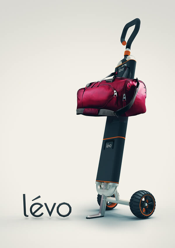 levo multipurpose cart9 Multipurpose Cart Concept For Shopping