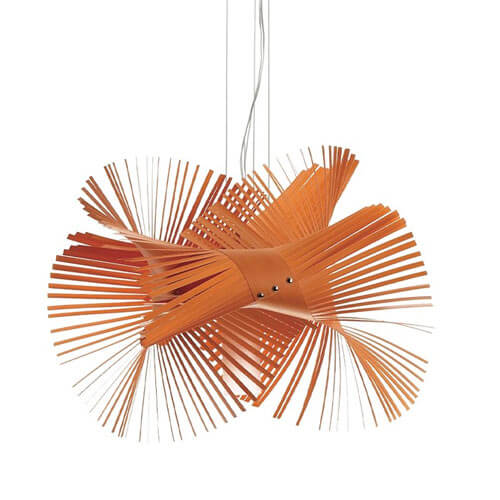 mini mikado suspension light 03 7 Creative Handmade Lamps from LZF for a Spectacular Lighting Effect