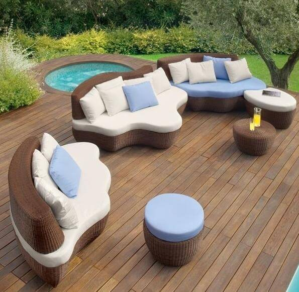 modern outdoor furniture6 15 Modern Furniture Ideas for Inviting Outdoor Spaces
