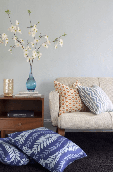 print cushions 5 Design Ideas to Decorate Your Home for Spring