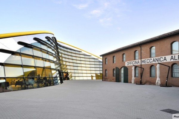 Enzo Ferrari Museum 2012 600x400 New Exhibition Building for Enzo Ferrari Museum in Modena