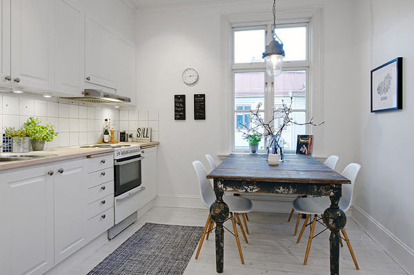 Swedish apartment 2 15 Kitchen Ideas Showcasing Inspiring Scandinavian Design