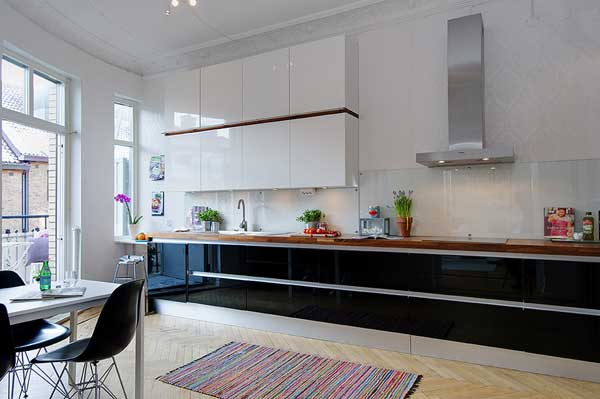 Unique duplex apartment Alvhem 12 15 Kitchen Ideas Showcasing Inspiring Scandinavian Design