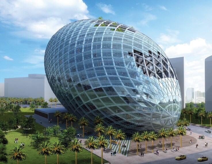 Alfa Img Showing Concept Futuristic Building Designs