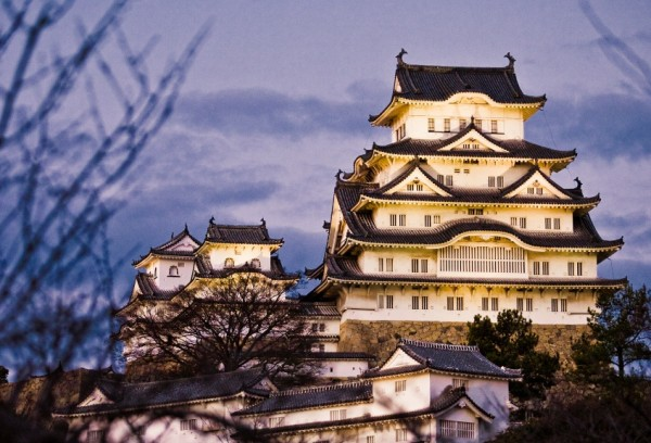 himeji castle japan national treasure2 600x408 4 Amazing Japanese Castles Designated National Treasures