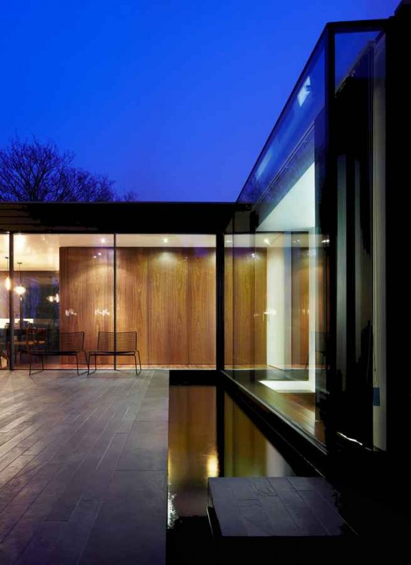 kingsley place architecture of a house 600x824 Contemporary Architecture of a House in London