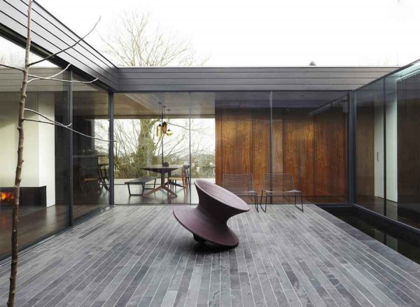kingsley place house architecture of a house 600x439 Contemporary Architecture of a House in London