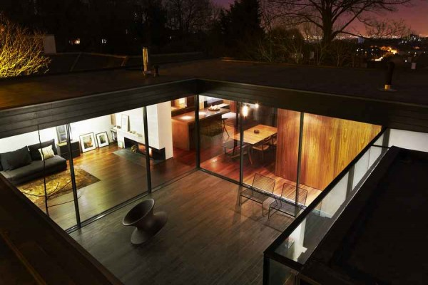 modern architecture of a house 600x400 Contemporary Architecture of a House in London