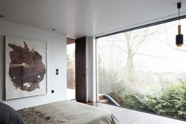 modern architecture of a house1 600x400 Contemporary Architecture of a House in London