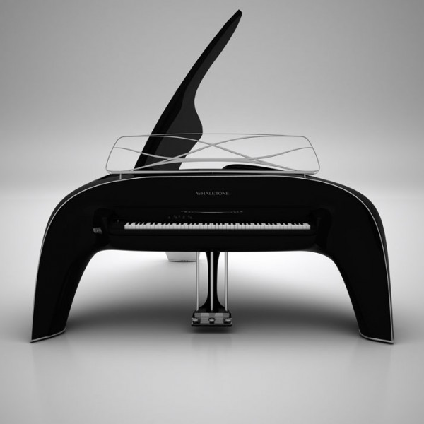 modern grand piano whaletone 600x600 Stunning Musical Instrument With Bespoke Elements: Whaletone