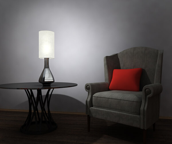 modern lamp City Lamp with Glowing Pearl Lights Transforms Interiors