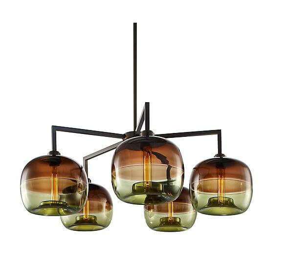 Modern pendant lights with an industrial look interior for Contemporary lighting pendants