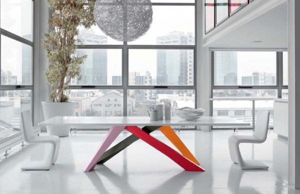 tables design Bonaldo 600x388 8 Tables Designs Reflecting Italian Taste for Contemporary Home