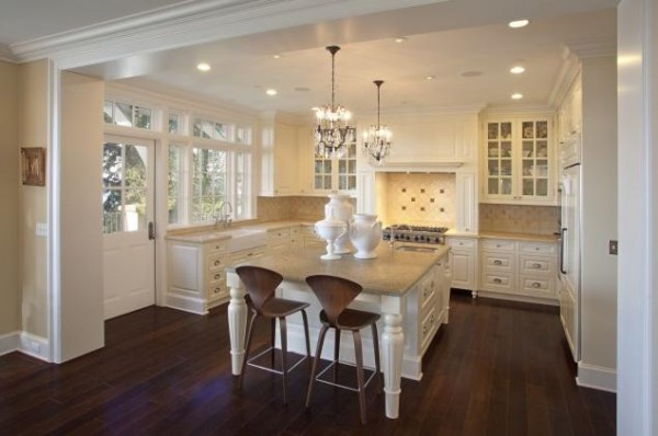 Traditional White Kitchen Ideas 15 large kitchens ideas displaying traditional white design