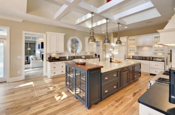 15 large kitchens ideas displaying traditional white design