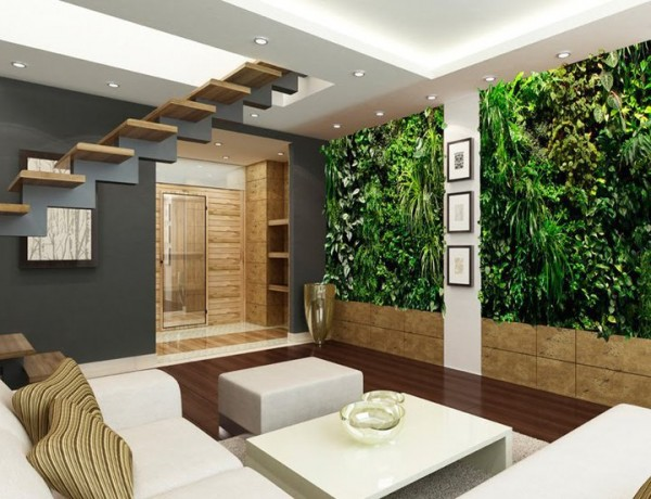 155539 173764655985026 156451904382968 506451 464532 n 600x460 Add Greenery to Your Interior Space Using Vertical Gardens