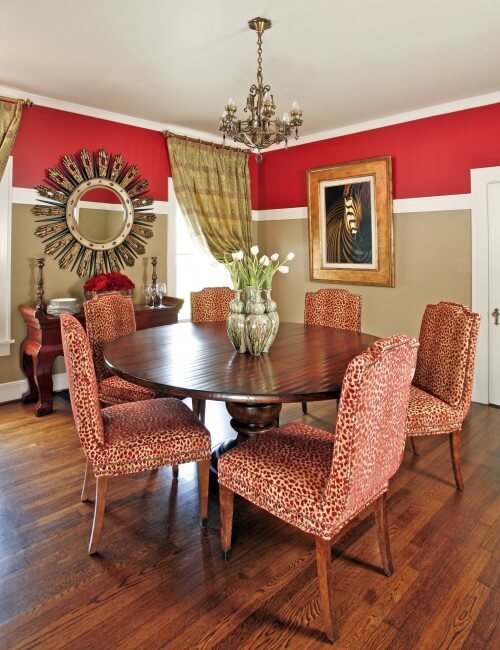 322589 0 8 6340 traditional dining room Animal Prints to Spice Up Your Interiors