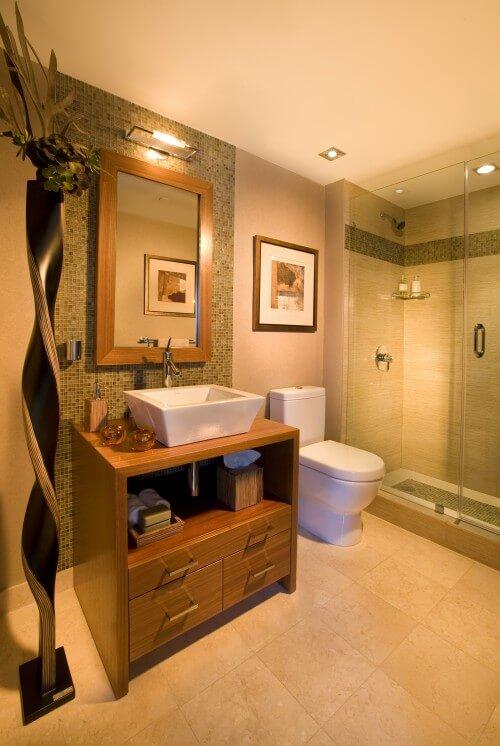 In High End Bathroom Design With DKOR Interiors Interior Design