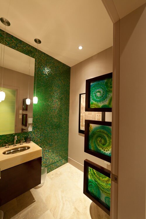 725544 0 8 0152 contemporary bathroom How to use Green Color for Interior Design