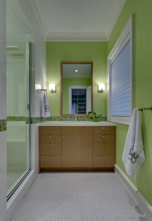 931022 0 8 3750 modern bathroom.jpg altGreenbrier Residence modern bathroom How to use Green Color for Interior Design