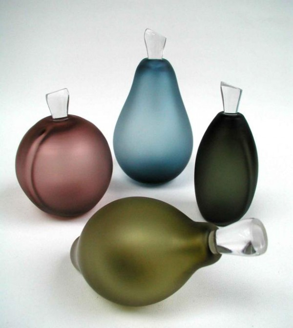 Glass Bottles Fruit 600x672 Distinctive and Contemporary Glass Bottles Collection by LoCo Glass