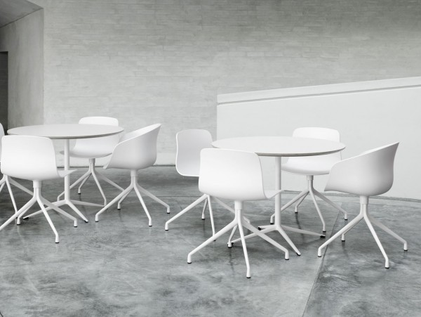 aac20 ray table 600x451 About A Chair by Hee Welling Displaying Striking Design Simplicity