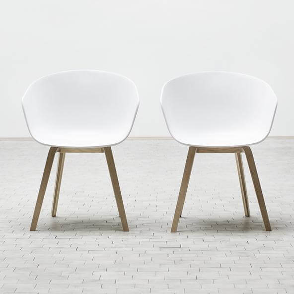 about a chair1 About A Chair by Hee Welling Displaying Striking Design Simplicity
