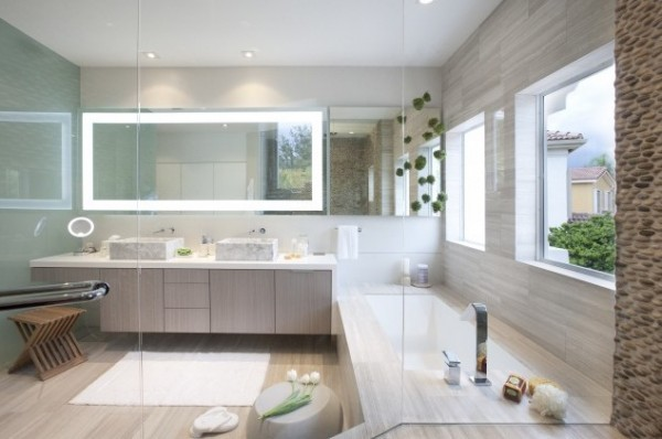 Indulge In High End Bathroom Design With Dkor Interiors Interior Design Design News And