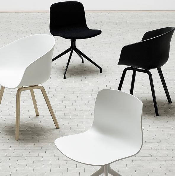 chair About A Chair by Hee Welling Displaying Striking Design Simplicity
