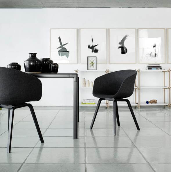 chairs About A Chair by Hee Welling Displaying Striking Design Simplicity