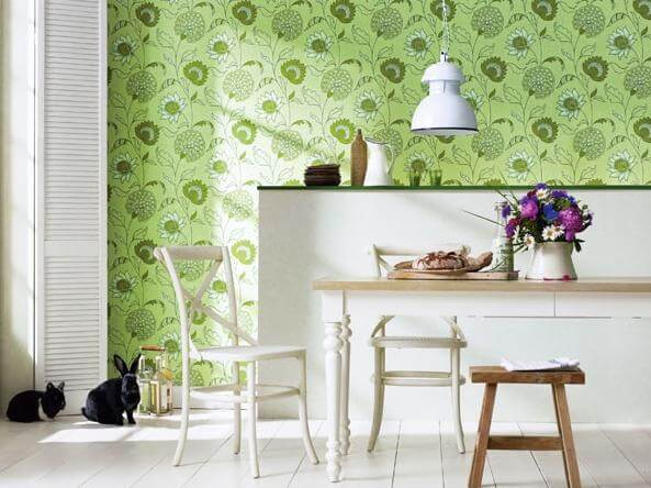 fr How to use Green Color for Interior Design