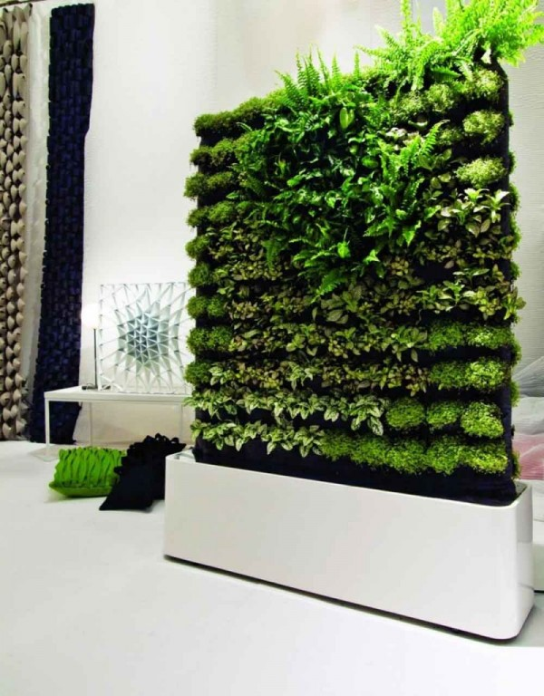 greenwalls by greenworks 06 800x1024 600x768 Add Greenery to Your Interior Space Using Vertical Gardens