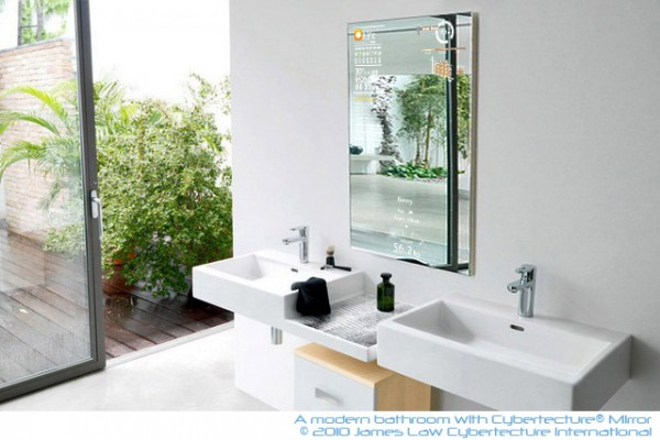 pic19 600x400 A Reflective Mirror into a Digital Life   The Worlds First Intelligent Mirror