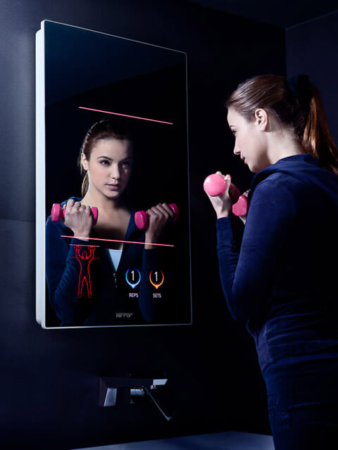 pic7 A Reflective Mirror into a Digital Life   The Worlds First Intelligent Mirror