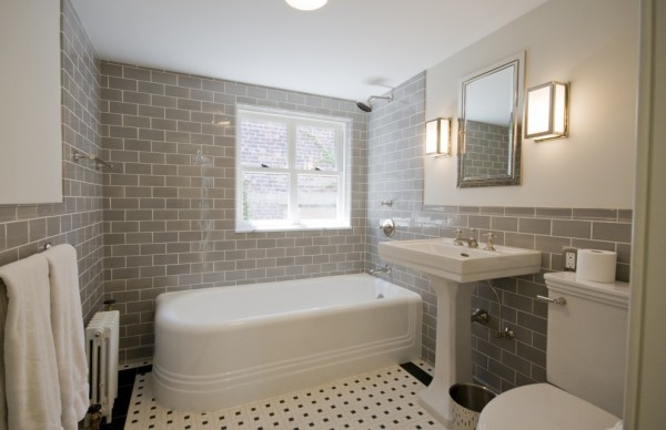 materials for bathroom tiles