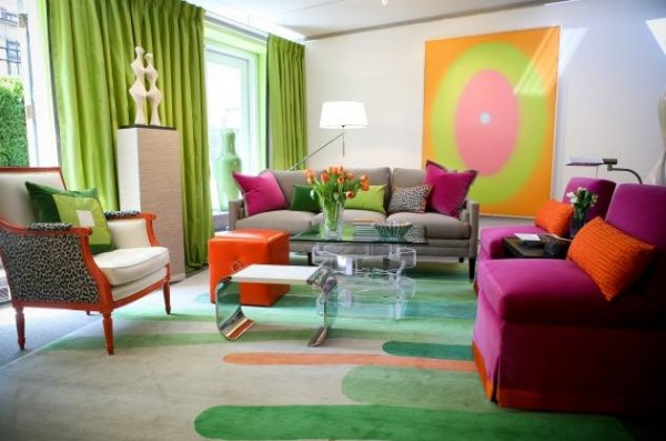 tt1 600x397 How to use Green Color for Interior Design