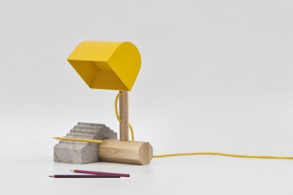 1 const 600x400  CONST Desk Lamp by Thinkk Studio