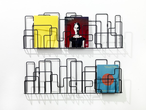 CitySunday Front hr 600x450 Wall Mounted Magazine Rack Inspired by City Structures