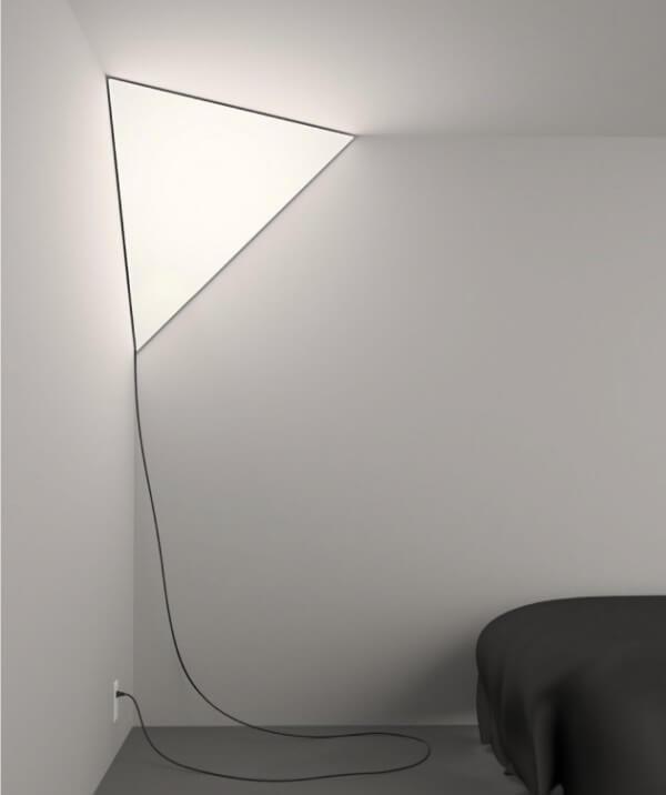 Corner Light Illuminates Beautifully Your Interior Spaces