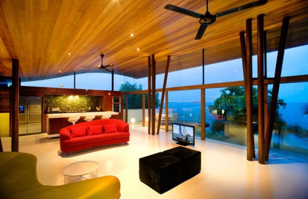 The Fish House by Guz Architects 9 600x387 Fish House by Guz Architects